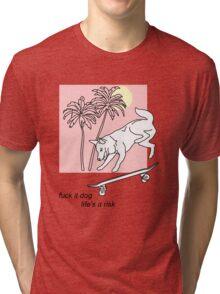 life's a risk Tri-blend T-Shirt