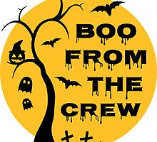 Boo from the crew by Fuchs-und-Spatz