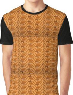 Retro Orange One Graphic T-Shirt