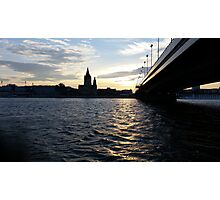 The Danube in Vienna Photographic Print