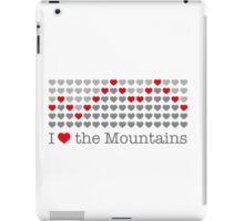 I love the mountains V.1.1 iPad Case/Skin