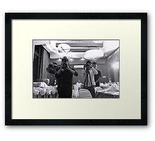 Camera Men Framed Print