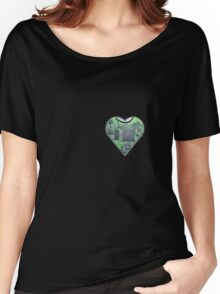 Hardwired Heart Women's Relaxed Fit T-Shirt