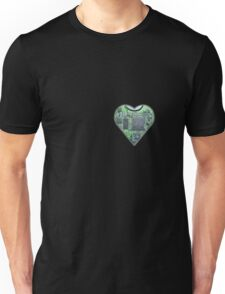 Hardwired Heart Unisex T-Shirt