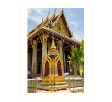 The Grand Palace - Temple of the Emerald Buddha Art Print