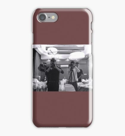 Camera Men iPhone Case/Skin