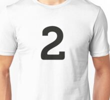 Sport Number 2 Two Unisex T-Shirt