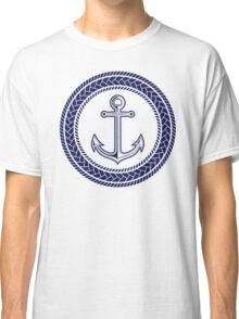Anchor inside of ropes Classic T-Shirt