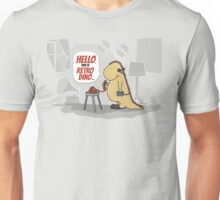 Hello, this is retro Dino Unisex T-Shirt