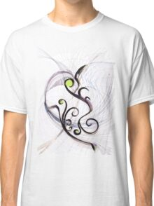 Flying to the Hyperspace - Original Wall Modern Abstract Art Painting Classic T-Shirt