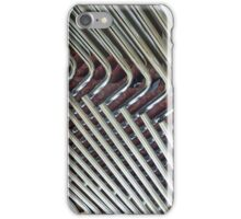 Abstract Lines of Stacked Chairs  iPhone Case/Skin