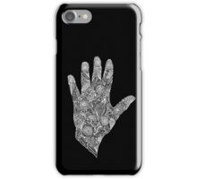 HennaHandWhite iPhone Case/Skin