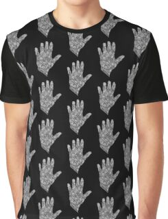 HennaHandWhite Graphic T-Shirt