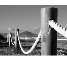 Rope and Pole Photographic Print