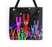 Button Bunnies Tote Bag
