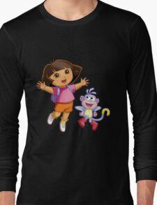 Dora The Explorer Long Sleeve T-Shirt