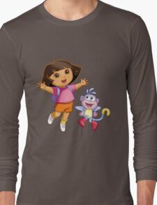 Dora The Explorer Long Sleeve T-Shirt