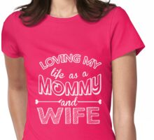my mommy Womens Fitted T-Shirt