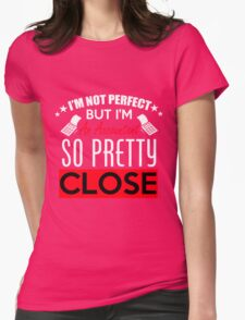 Pretty Womens Fitted T-Shirt