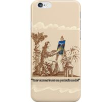 """It's on portrait!"" iPhone Case/Skin"
