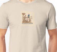 """""""It's on portrait!"""" Unisex T-Shirt"""