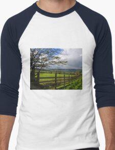 Landscape....... Men's Baseball ¾ T-Shirt