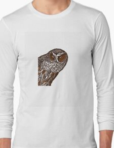 Brown Owl Long Sleeve T-Shirt