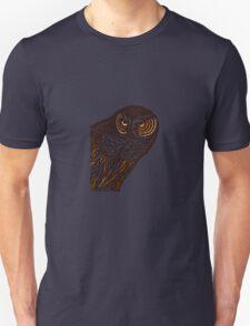 Brown Owl Unisex T-Shirt