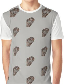 Brown Owl Graphic T-Shirt