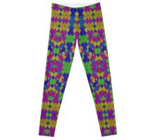 Ethnic Modern Geometric Pattern Leggings