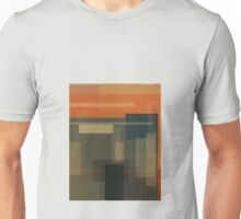Munch: The Scream (computer-generated abstract version) Unisex T-Shirt
