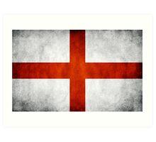 England Flag - St Georges Art Print