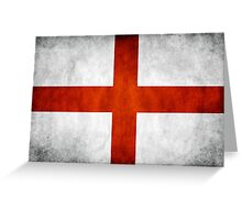 England Flag - St Georges Greeting Card