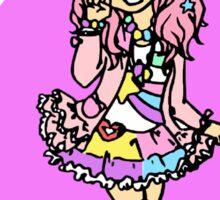 Harajuku Pastel Girl Kawaii Fairy Kei Decora Sticker