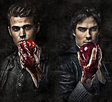 The Salvatore Brothers by hinomaru17