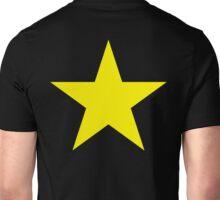 YELLOW, Star, Bright Star, Super nova, Stellar, Achievement, on BLACK, Cool, Unisex T-Shirt