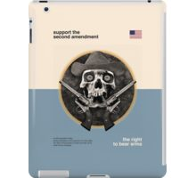 Support The Second Amendment iPad Case/Skin