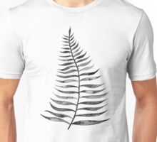 Black Palm Leaf Unisex T-Shirt