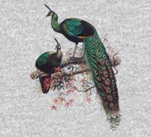 Peacock extravaganza Baby Tee