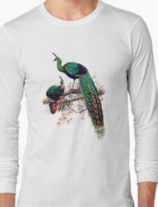 Peacock extravaganza Long Sleeve T-Shirt