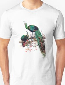 Peacock extravaganza Unisex T-Shirt