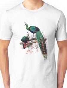Peacock extravaganza Unisex T-Shirt