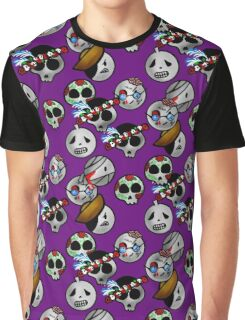 Halloween Emoji - Day of the Dead Graphic T-Shirt
