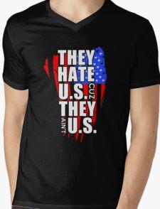 hate US Mens V-Neck T-Shirt