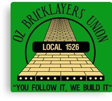 Oz Bricklayers Union Canvas Print