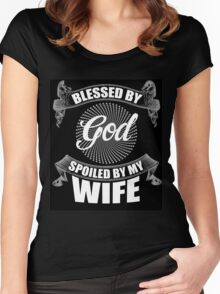 My wife Women's Fitted Scoop T-Shirt
