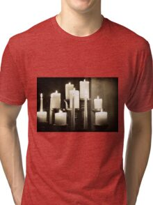 Illumination of the candles Tri-blend T-Shirt