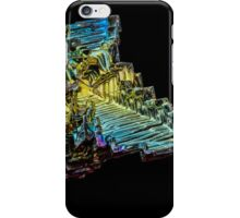 Iridescent Bismuth Crystal Abstract iPhone Case/Skin