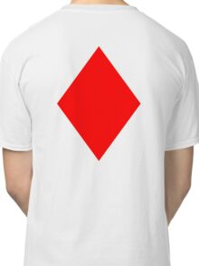 ACE, DIAMONDS, Cards, Game, Gang, Suit, Ace of Diamonds, Red Classic T-Shirt