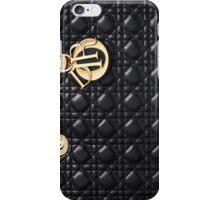 Miss Dior Black iPhone Case/Skin